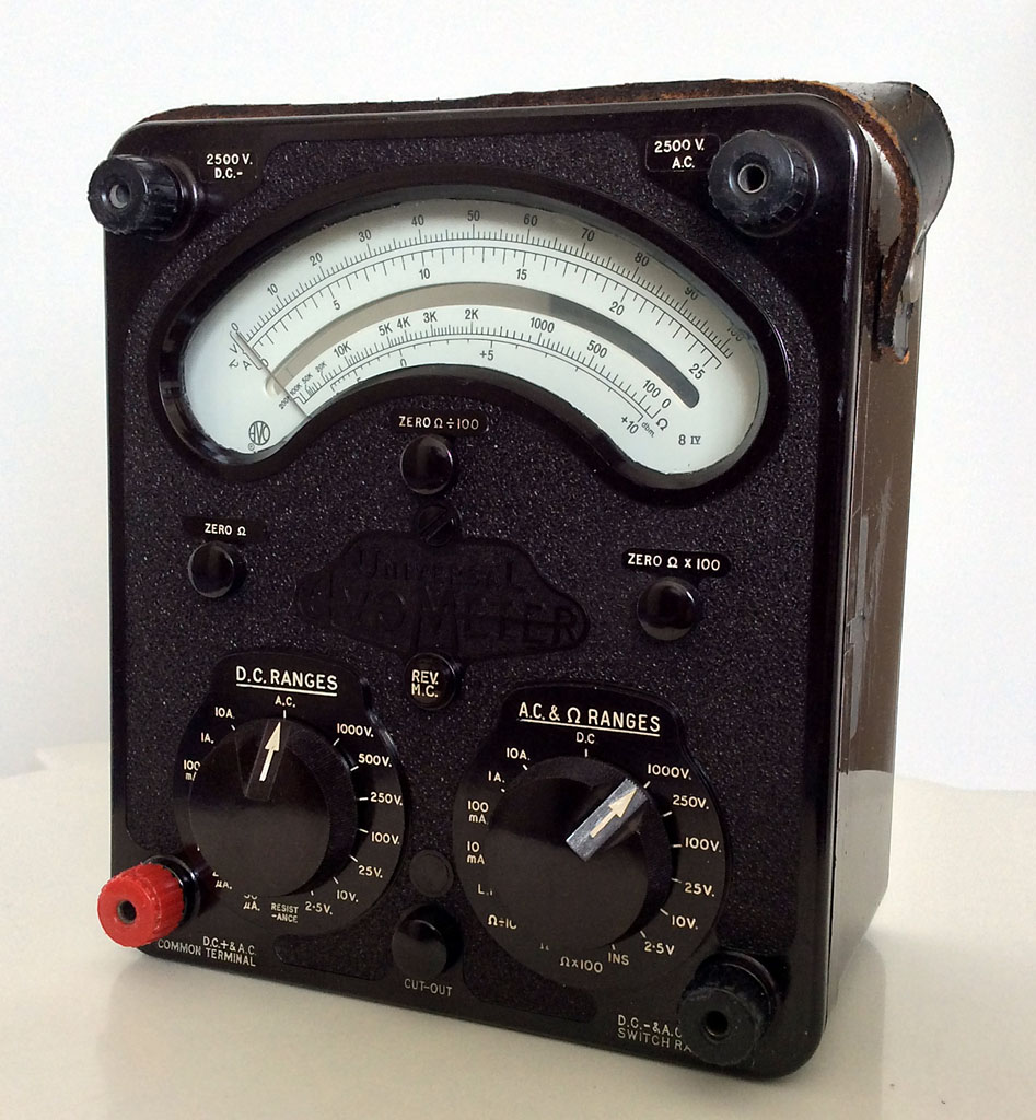 <b>AVO Universal Avometer Model 8 Mark IV</b> (1971) : Figure 96 : Current AC: 10mA-10A