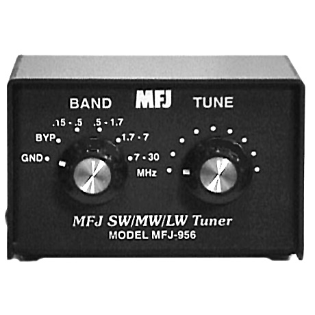 <b>MFJ Enterprises, Inc. MFJ-956</b> (2002) : Figure 39 : Antenna tuner helps in rejecting images, intermod, and phantom signals. Tunable from 0.15 to 30 MHz, not very good in the AM Broadcast band. :