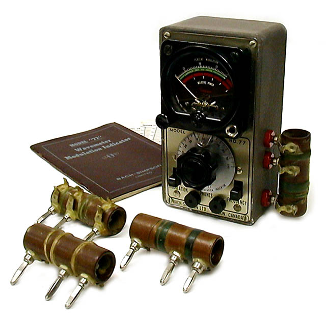 <b>Bach-Simpson 77</b> (1948) : Figure 55 : Absorption Wavemeter-Modulation Indicator :