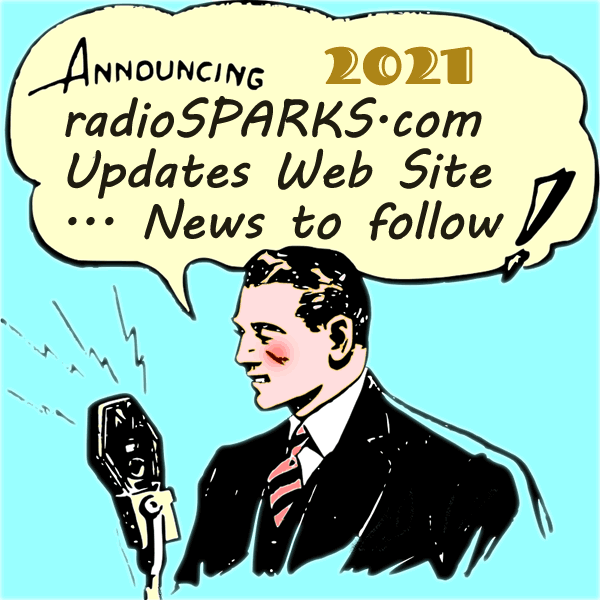 Figure 37 : radioSPARKS.com : Get ready for an announcement...