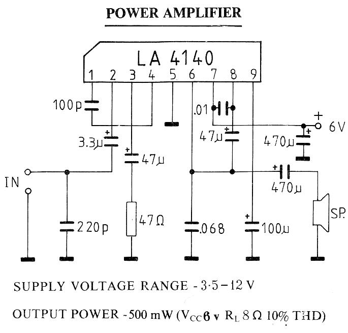 500 MW Amplifier