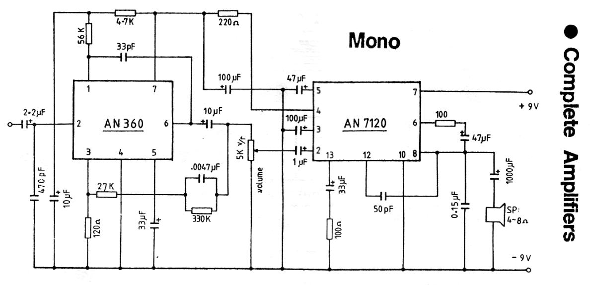 Complete Mono Amplifier