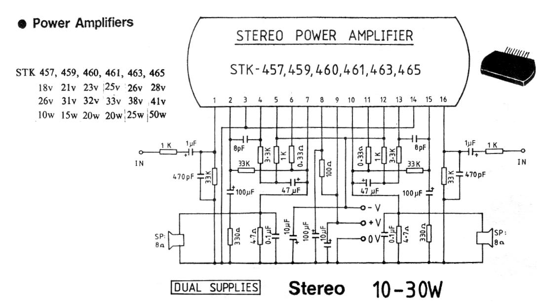 10-30W Stereo Power Amplifier