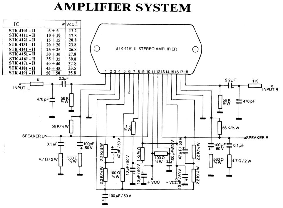 Amplifier System (Part 1)