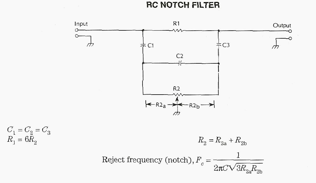 RC Notch Filter