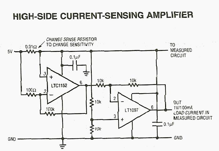 High Side Current-Sensing Amplifier