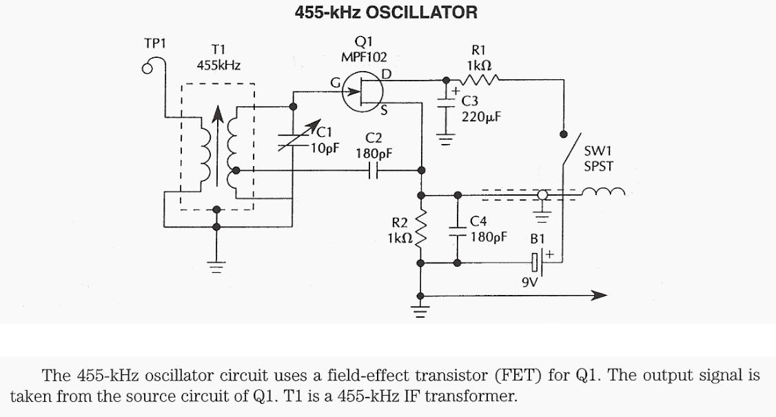 455 kHz Oscillator