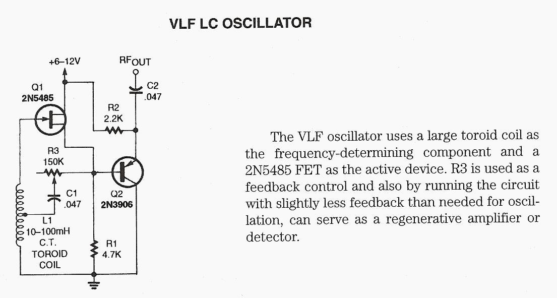 VLF LC Oscillator