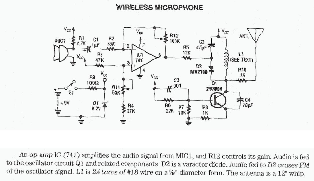 FM Wireless Microphone