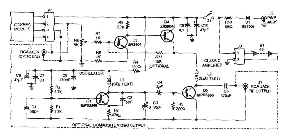Micro TV Transmitter