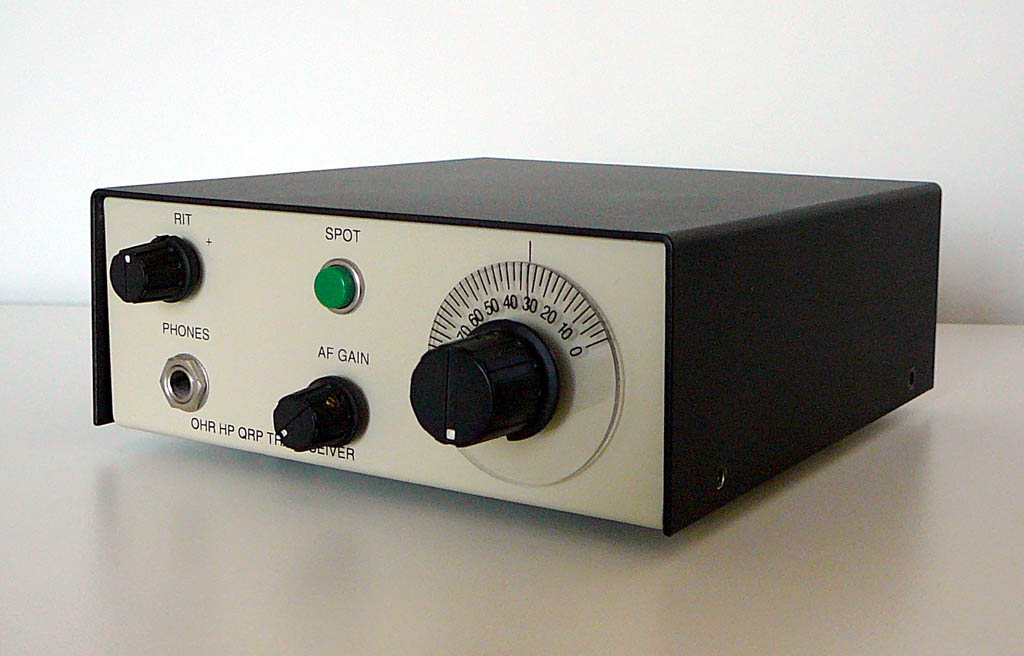 <b>Oak Hill Research OHR-HP_QRP</b> (1998) : Figure 72 : 80 Meter Band QRP Transceiver 1 Watt :
